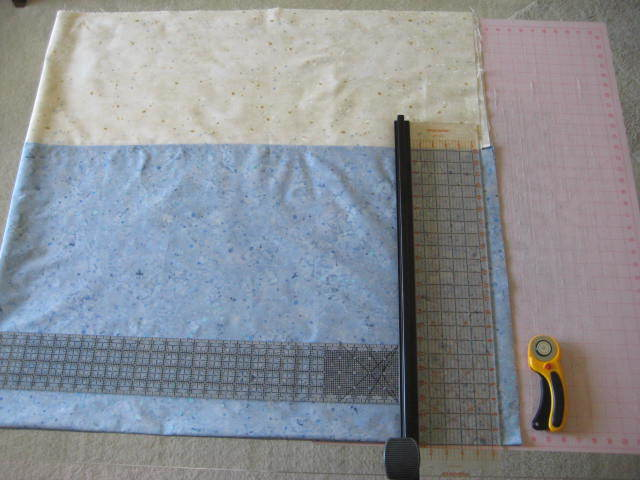 How To . . . Square Backing